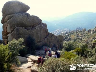 Senda de los Carboneros - La Pedriza - senderismo madrid; senderistas madrid; paginas de senderismo